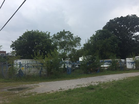 A view of the property, which Adam Diskin and Russell