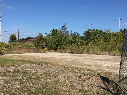 A brownfield site on 2nd Street in Perth Amboy will