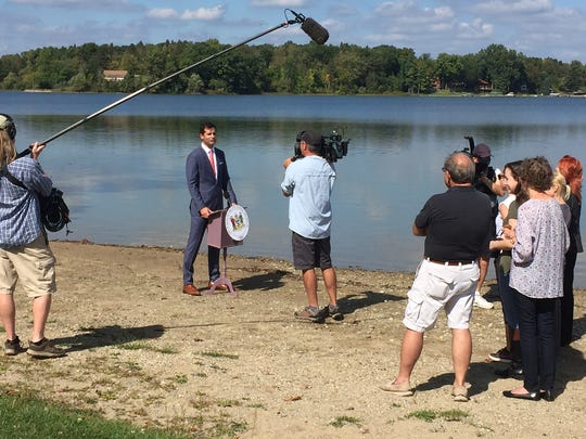 """A segment for """"The Daily Show"""" was shot on Silver Lake"""