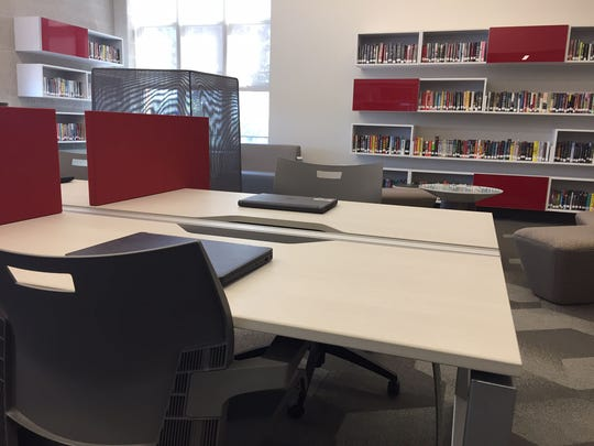 William Penn High School's new innovation center opens to students on Wednesday.