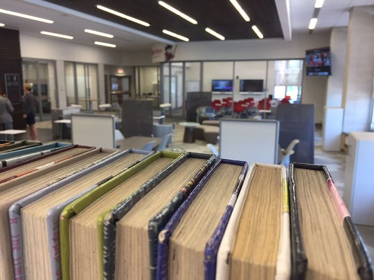 William Penn High School's new innovation center combines library learning with a college lounge aesthetic.