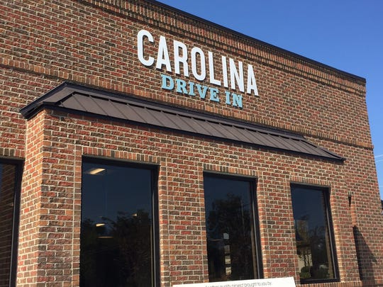 The new Carolina Drive -In, located on Rutherford Rd.