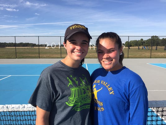 RV girls tennis doubles team