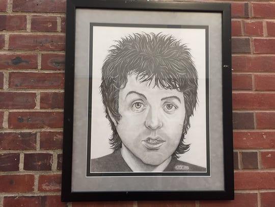 Paul McCartney by Santo Romano.