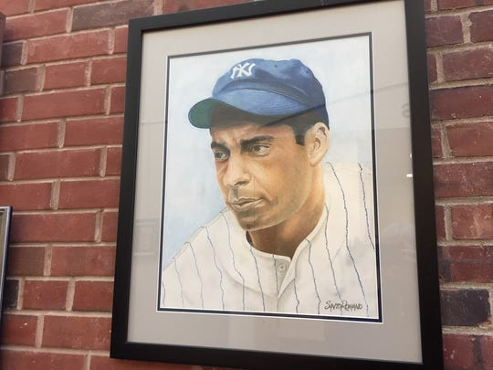 Joe DiMaggio by Santo Romano.