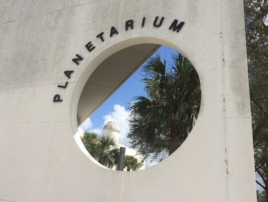 The planetarium and observatory on Eastern Florida