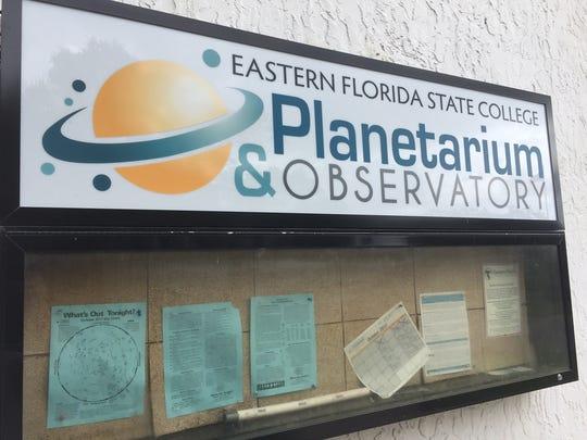 The planetarium and observatory on Eastern Florida