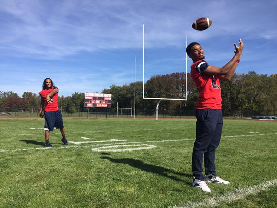 Willingboro's Trae Greene, left, and David Green III have each set career records for the Chimeras this season.