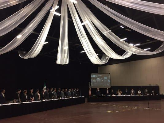 El Paso and Juarez meeting