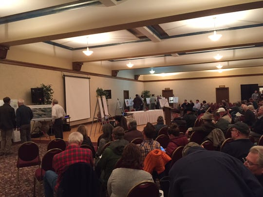A meeting in Great Falls on the proposed Black Butte Copper Project in October drew 130 people.
