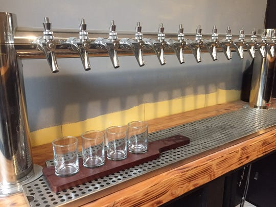 King's Road Brewing Company has a 14-tap system. When