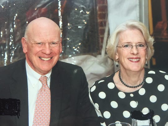 Honorary Chairs Knight and Ann Kiplinger.