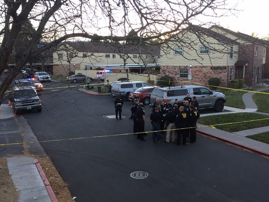 Sparks apartment shooting