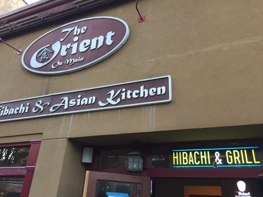 The Orient on Main Street.