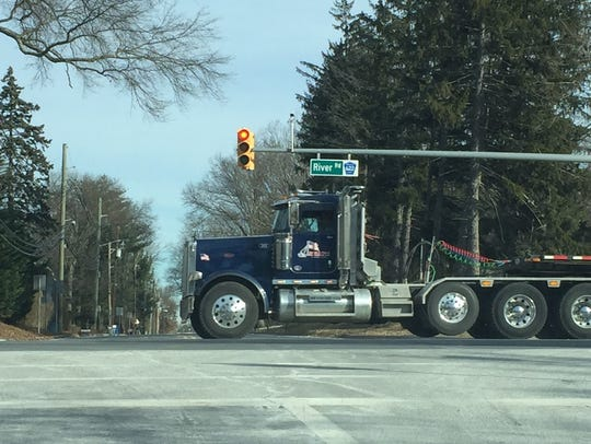 The Piscataway Township Police Department has issued 562 citations to truck drivers, who violated the River Road commercial vehicle ban from March 4 until April 23.
