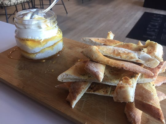 The Ricotta Board is a favorite at LaScala's Fire in Evesham and LaScala's Birra in Philadelphia.