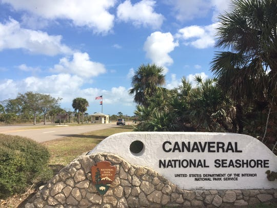 The Canaveral National Seashore was open but not fully