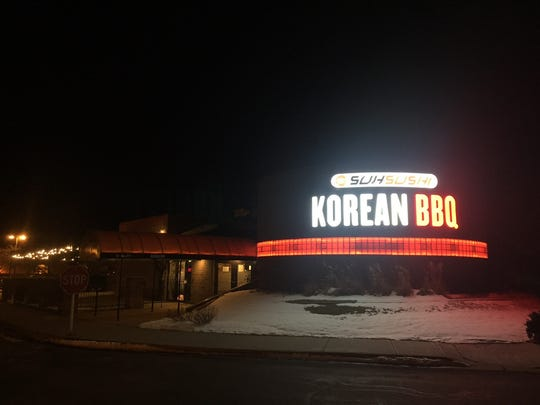 A picture of the outside facade at Suh Sushi's new Korean spot.