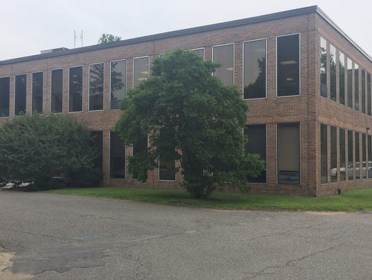 New Castle's municipal building, which includes the