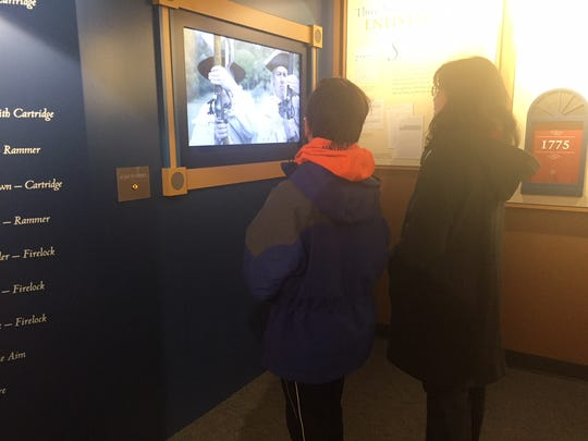 Visitors to the Discover History Center are invited