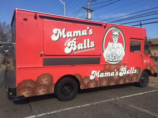 Mama's Meatballs food truck is parked in Pennsauken when it isn't out serving fresh meatball sliders and sandwiches.