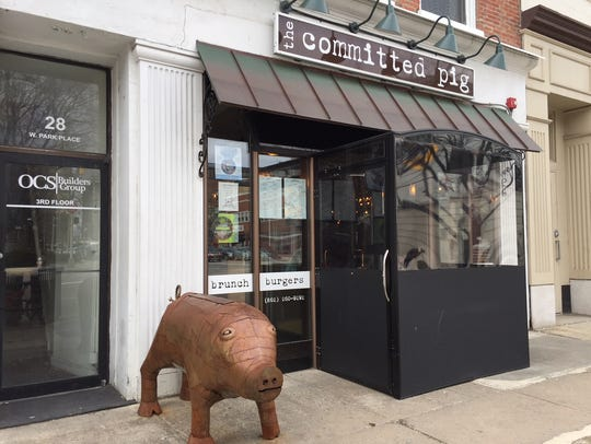 The Committed Pig at 28 West Park Place in Morristown.
