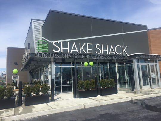 Shake Shack offers guests burgers, shakes, fries, chicken