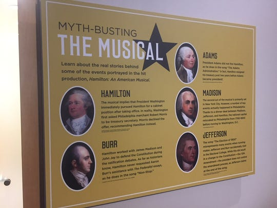 Think you're a history buff after singing along to the 'Hamilton' soundtrack? The National Constitution Center rights some historical wrongs with 'Myth-Busting the Musical.'