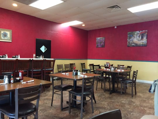 A peek inside Sam's Diner, which replaces Salsa's Mexican