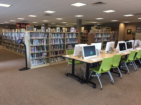 Opened in January 2014, the well-furnished Palmyra Public Library at 50 Landings Dr. in Annville is a popular destination for readers of all ages.