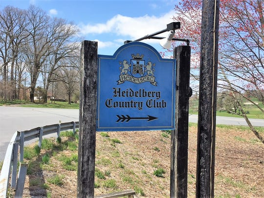 Heidelberg Country Club is one of the first areas in Bernville where debris from a Southwest Airlines engine was uncovered.