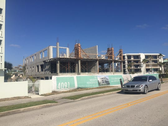 Developers of 4091 Ocean Drive, across from the Conn