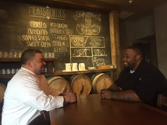 Chefs Oliver Munguia and Gardner Wilson at Keg & Kitchen are very different personalities who approach cooking from different places, but the two work together well as Keg & Kitchen changes and evolves.