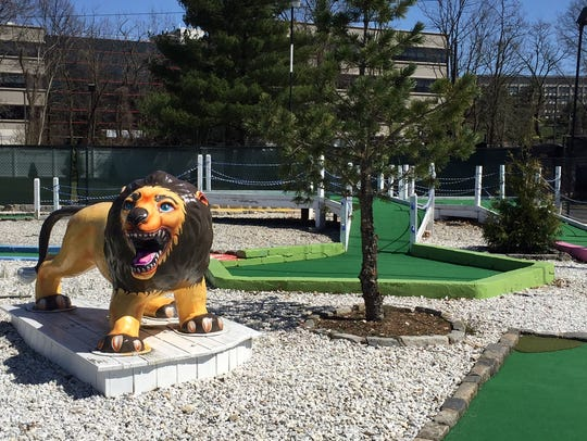 Play miniature golf at Anchor Golf Center at 21 Route