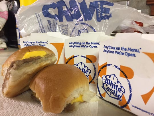 Some iconic sliders from White Castle.