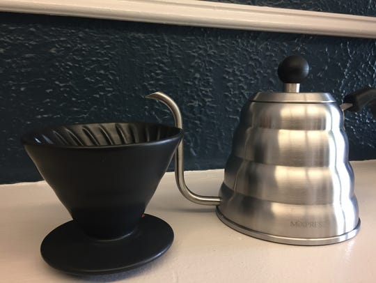 Cup of Bliss will offer pour-overs, French press, drip