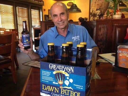 Great Basin Brewing Co., with  co-owner and brewmaster Tom Young shown here, won two bronze medals May 3 at the 2018 World Beer Cup Awards in Nashville, Tenn.