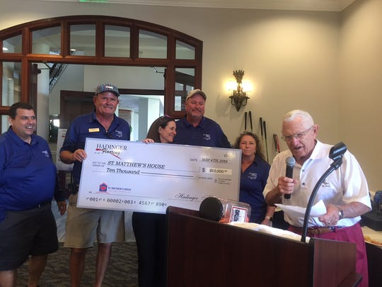 Hadinger Flooring hosted its annual golf tournament
