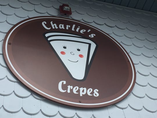Charlie's Crepes opens Sunday at 177 S. Centre St.,