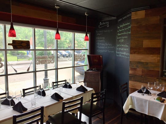 Peter James BYOB looks out onto a busy Haddon Avenue in Westmont. The restaurant will open on Feb. 5.