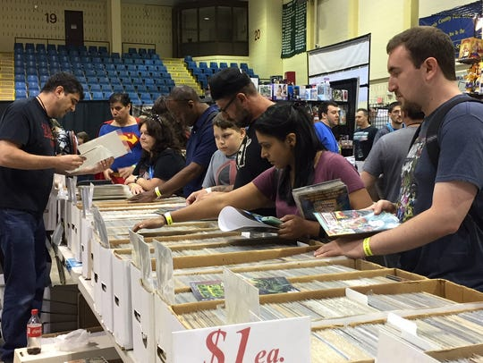 The Garden State Comic Fest featured tons of comics