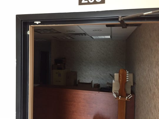 This unlocked, unoccupied office at 75 Bloomfield Avenue