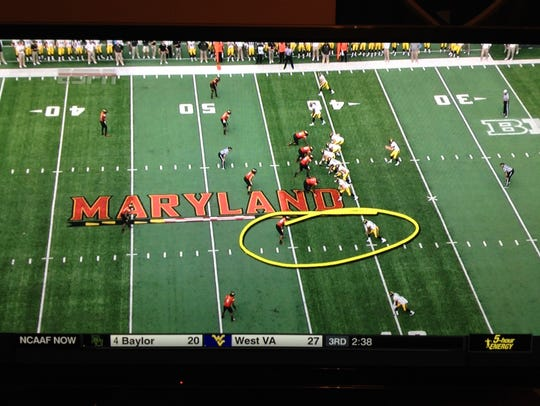 Joey Galloway circles the matchup for Kevonte Martin-Manley