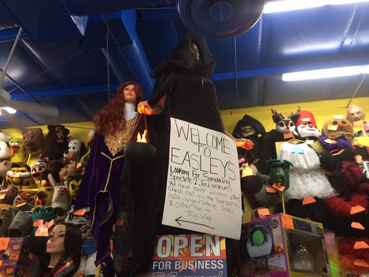 Halloween Costumes at Easley's