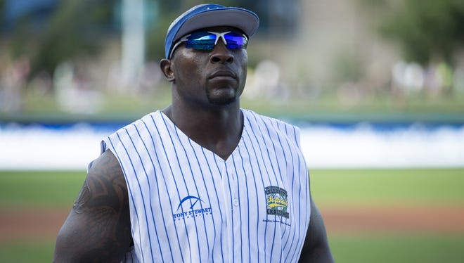 Colts linebacker Robert Mathis will once again host the annual Caroline Symmes Celebrity Softball Challenge.