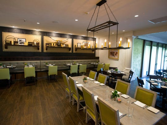 The dining area at Scottsdale Resort at McCormick Ranch.