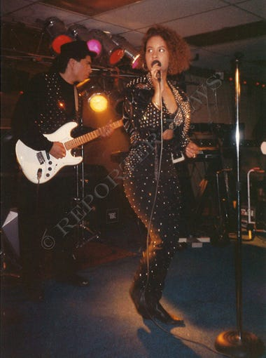 Selena y los Dinos performs in Abilene in this undated