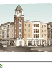 Carmel plans to build a mix of apartments, offices and retail at the northeast corner of Main Street and Rangeline Road in the Arts & Design District.