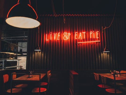 Restaurants and bars best neon signs restaurants and bars best neon lights pieminister nottingham nicola thompson photography 049g aloadofball Image collections