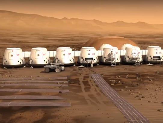 Future Mars habitat.